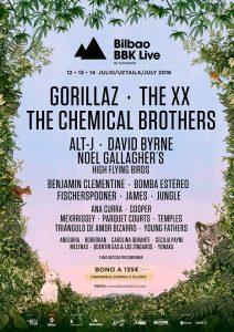 Cartel Bilbao BBK Live 2018