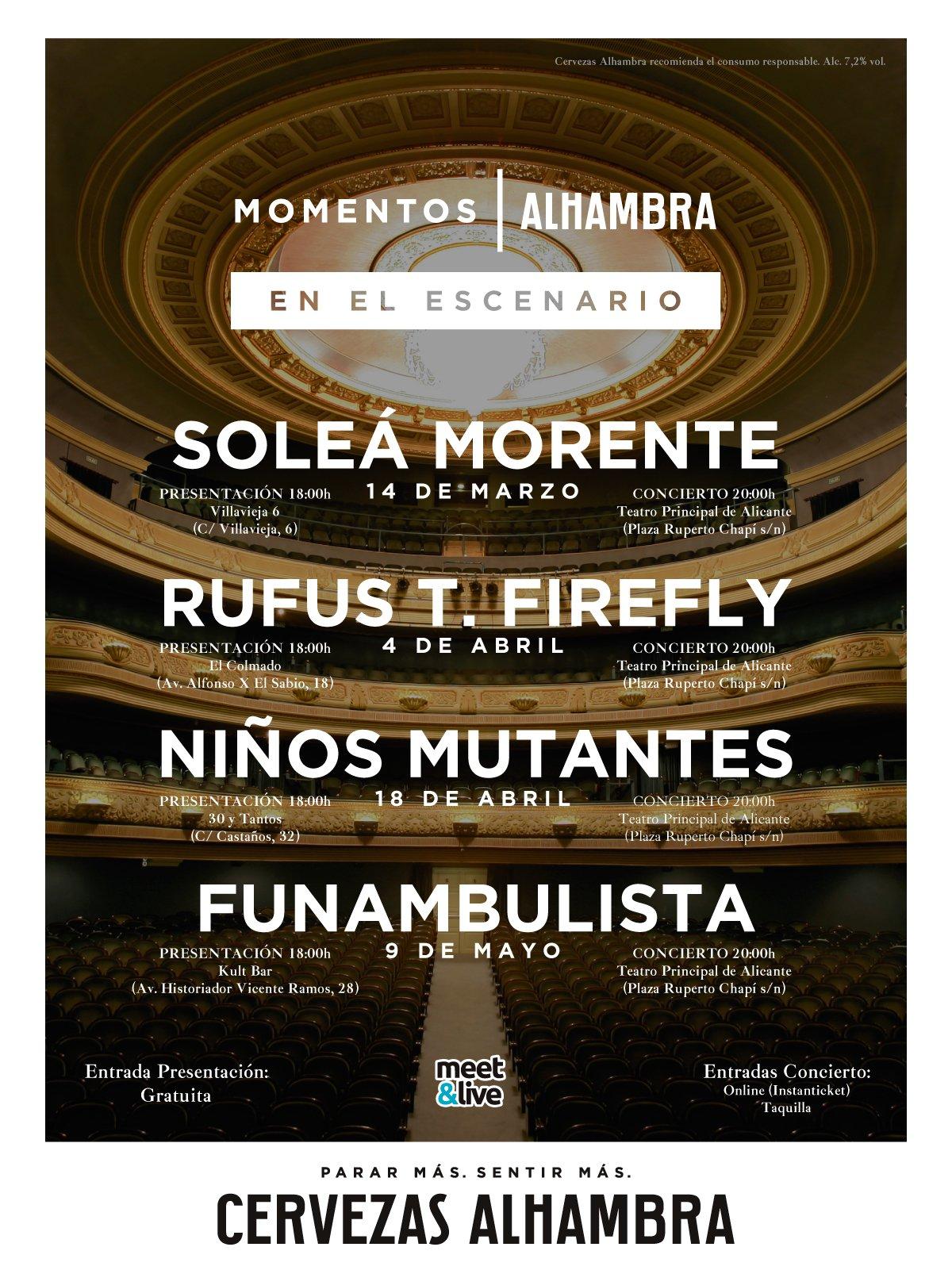 Momentos | Alhambra En el Escenario
