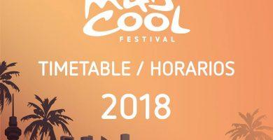 ¡Mad Cool Festival 2018 presenta sus esperados horarios!