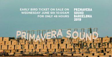 ¡Primavera Sound 2019 ya está en marcha!