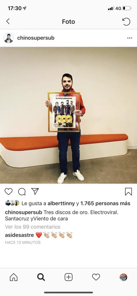 Jose Chino Supersubmarina Foto