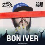 ¡Bon Iver confirmado en Mad Cool Festival 2019!