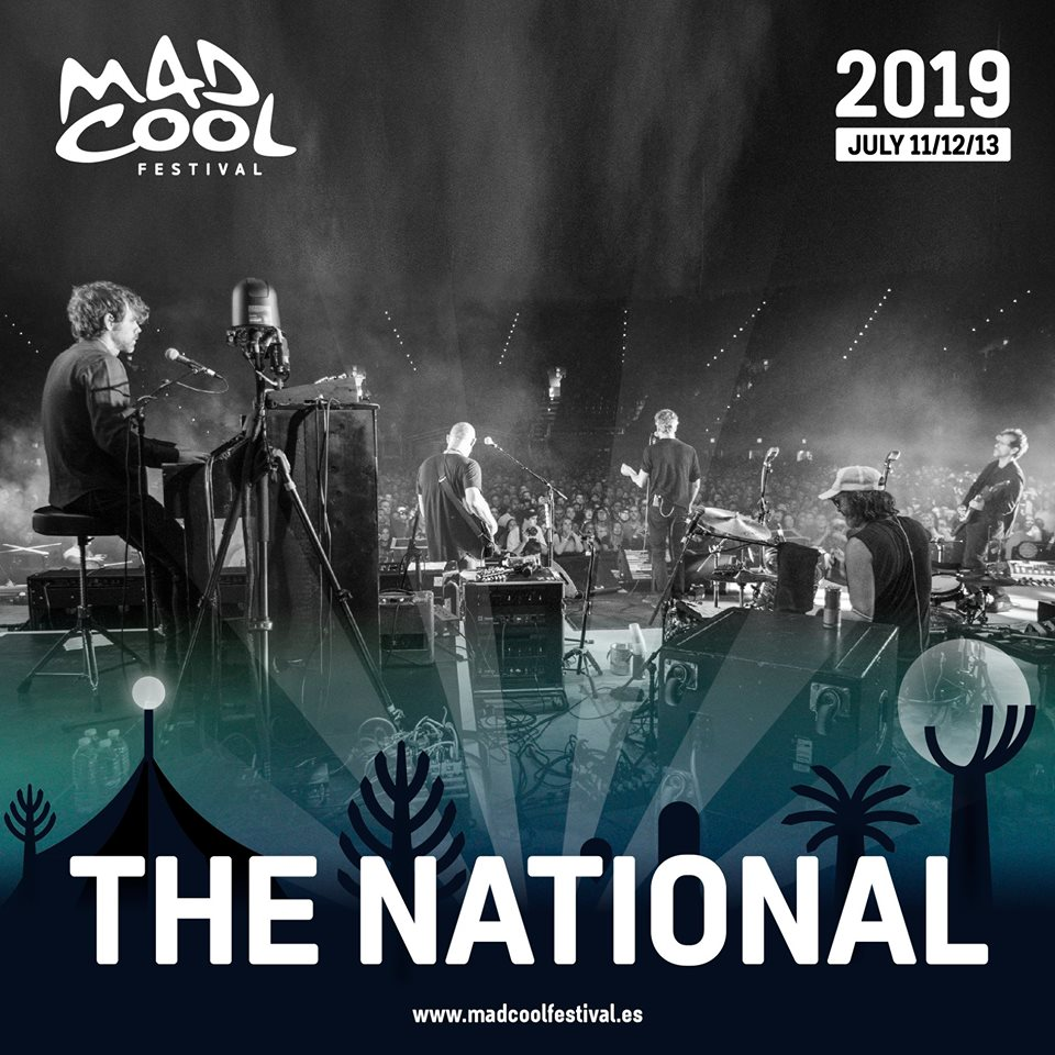 The National primera confirmación Mad Cool Fetsival