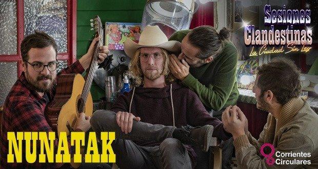 Nunatak en las Sesiones Clandestinas