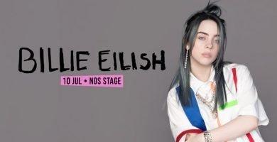 NOS ALIVE Billie Eilish